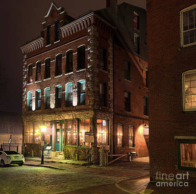 Photograph - Old Port, Portland, Maine #69480-69482 by John Bald