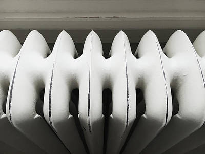 Old Plumbing Photograph - Old Radiator by Tom Gowanlock