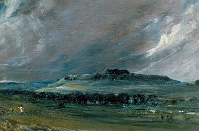 Old Sarum Original by John Constable