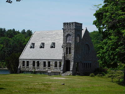 Photograph - Old Stone Church by Catherine Gagne