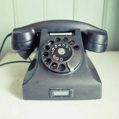 Home Photograph - Old Telephone Square by Edward Fielding