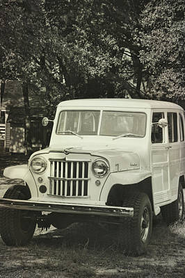 Photograph - Old Timer Jeep by Jamart Photography