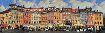 Photograph - Old Town In Warsaw # 29 by Aleksander Rotner