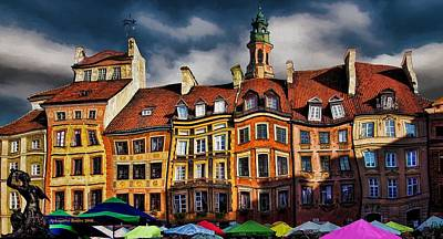 Photograph - Old Town In Warsaw #8 by Aleksander Rotner