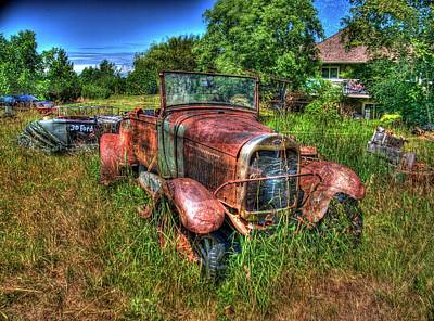 Photograph - Old Truck 6 by Lawrence Christopher