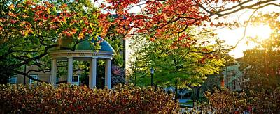 Unc Photograph - Old Well - Unc Chapel Hill by Matt Plyler