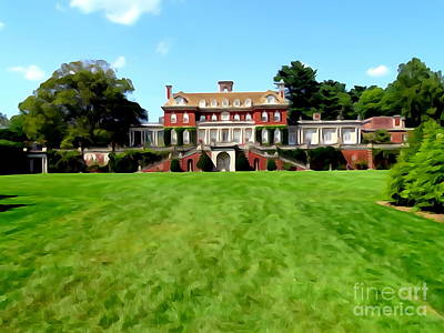 Digital Art - Old Westbury Gardens by Ed Weidman