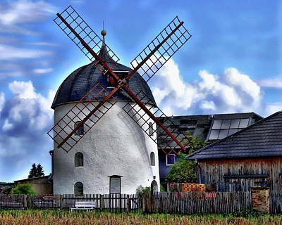 Photograph - Old Windmill by Anthony Dezenzio