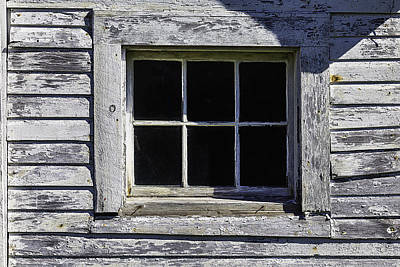 Barnyard Photograph - Old Window by Garry Gay