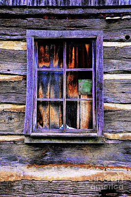 Photograph - Old Window by Rick Bragan