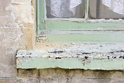 Home Improvement Photograph - Old Windowsill by Tom Gowanlock