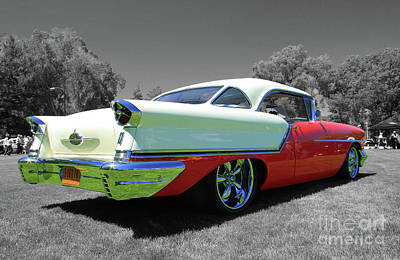Photograph - Oldsmobile by Tony Baca