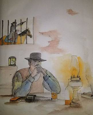 Painting - ole West my way albun by Debbi Saccomanno Chan