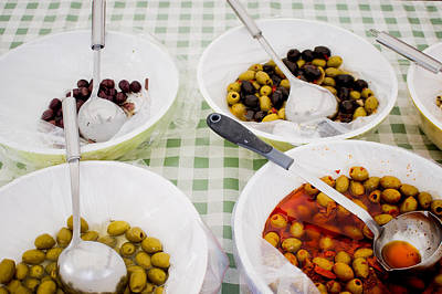 Olives Art Print by Tom Gowanlock
