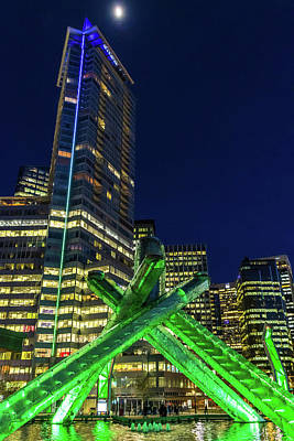 Photograph - Olympic Cauldron by Ross G Strachan