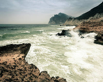 Photograph - Oman Coastline by Alexey Stiop