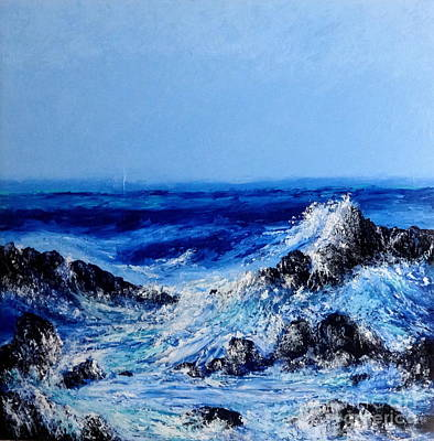 Painting - On Da Rocks by Fred Wilson