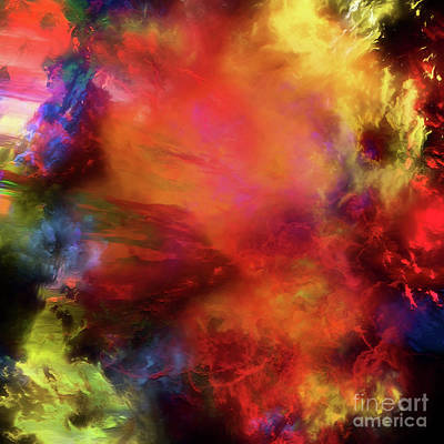 Digital Art - On Earth As It Is In Heaven 2016 by Margie Chapman