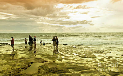 Photograph - On The Beach by Charuhas Images