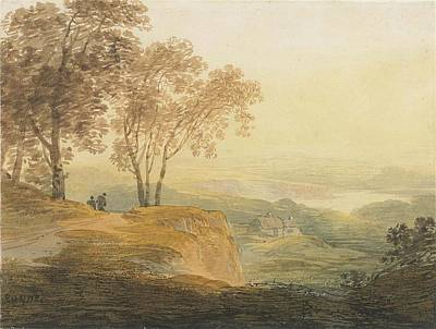 1754 Painting - On The Border Of Dartmoor by William Payne