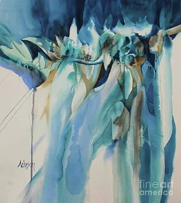 Painting - On The Edge by Donna Acheson-Juillet