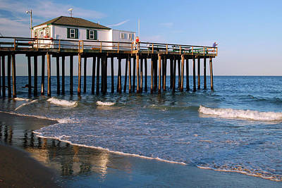 Photograph - On The Pier by James Kirkikis