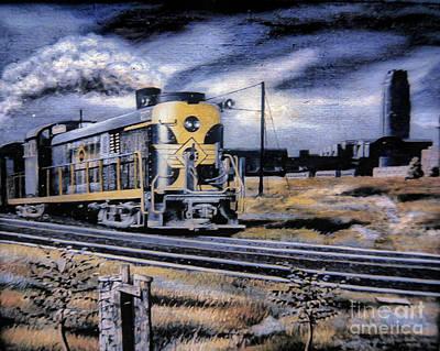 On The Rails Print by Gerald Ziolkowski