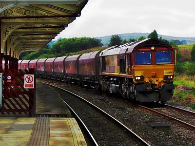 Photograph - On Track by Andrew Mcdermott