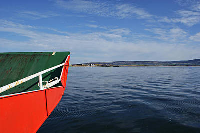 Photograph - Onboard The Lough Foyle Ferry by Colin Clarke