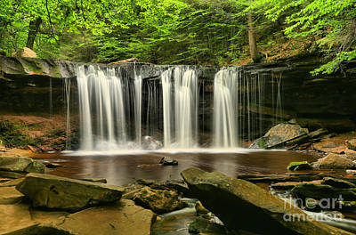 Ricky Photograph - Oneida Falls by Adam Jewell