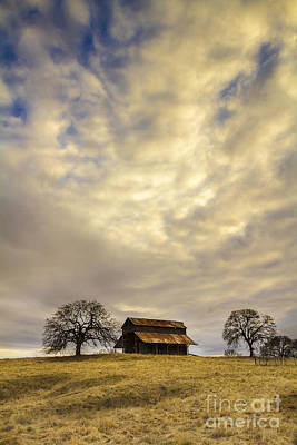 Photograph - Ono Barn by Randy Wood