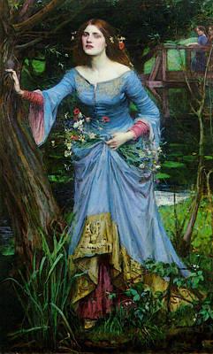 Ophelia Art Print by John William Waterhouse