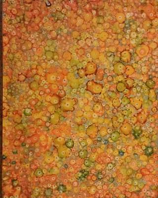 Orange Craze Art Print