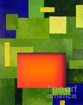 Orange Grove Original by Lawrence Supino