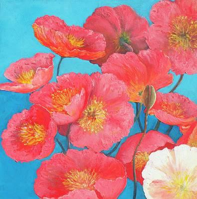 Painting - Orange Poppies by Jan Matson