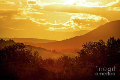Photograph - Orange Sunset by Alana Ranney