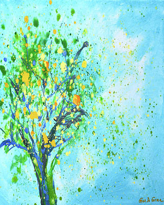 Painting - Orange Tree by Gina De Gorna