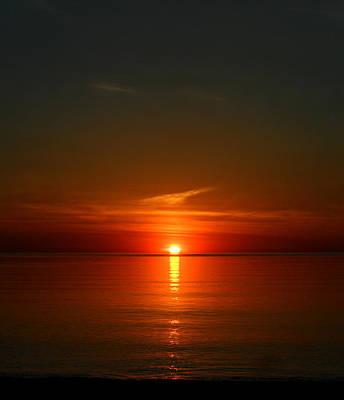 Photograph - Orangy Skies by Cyryn Fyrcyd