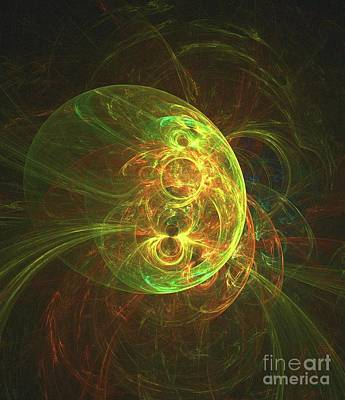 Science Fiction Royalty-Free and Rights-Managed Images - Orb of Light by Raphael Terra