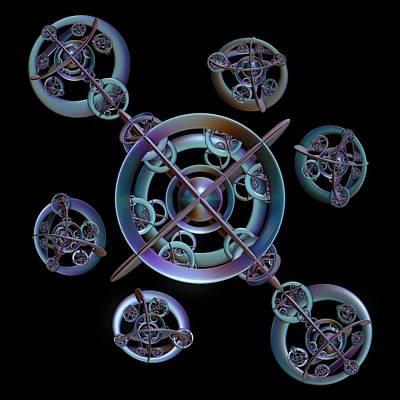 Digital Art - Orbital Bliss by Sara Raber