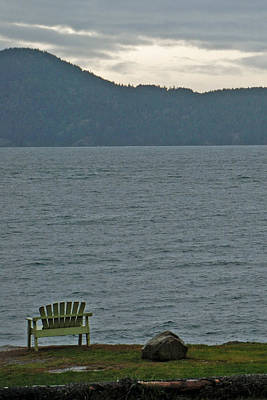 Orcas Island View Art Print