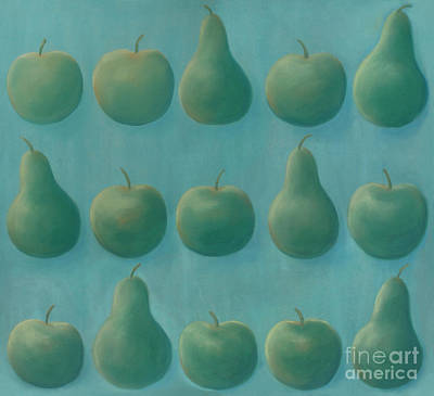 Painting - Orchard Teal by Flavia Westerwelle
