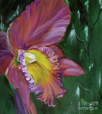 Painting - Orchid by Jenny Lee