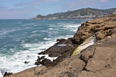 Oregon Coast Near Lincoln City Oregon. Original by Gino Rigucci