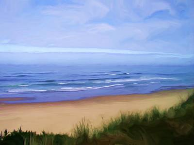 Seacape Painting - Oregon Coast by Shelley Bain