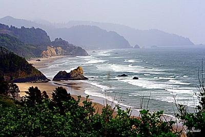 Photograph - Oregon Coastline by Lynn Bawden