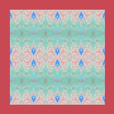 Mohammad Safavi Naini Painting - Original Pattern by Mohammad Safavi naini