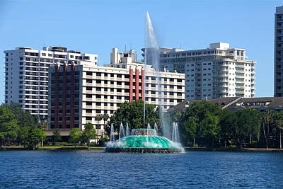 Photograph - Orlando Downtown by Denise Mazzocco