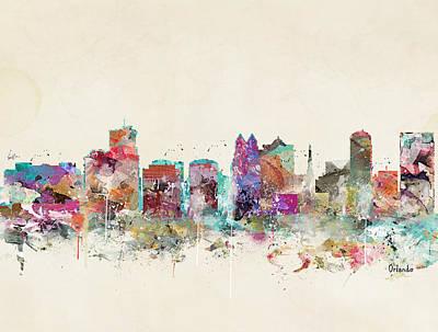 Colourfull Painting - Orlando Florida by Bri B