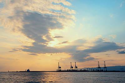 Photograph - Osaka Seaport by Songquan Deng